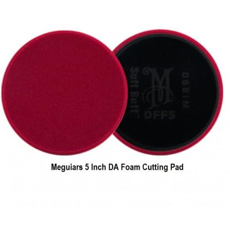"5/"" Meguiar/'s DA Microfiber Cutting Polishing Pad For 5/"" Backing Plate"